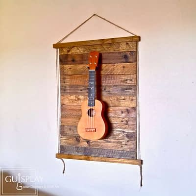 Guisplay Palette Rope Ukulele Display Wall Hanger1