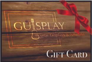 Guisplay Guitar Display case cabinet showcase ukuelele stand Gift Card