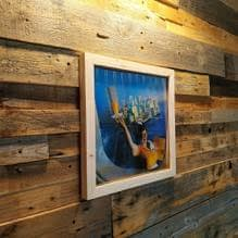 LP Vinyls Records Storage wall hanger display case
