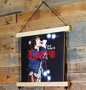 Lp record wall hanger display Vinyl handcraft handmade by Guisplay499
