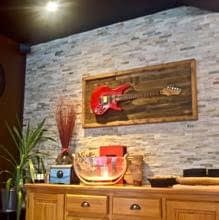 GUISPLAY Palette 4 Support guitar wall hanger display stand and Wall Art creations5 copie