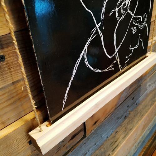 Lp record wall hanger display Vinyl handcraft handmade by Guisplay3